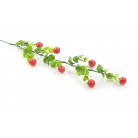 Kwiaty sztuczne dodatek gałązka 52cm