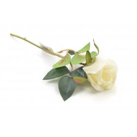 Kwiat sztuczny róża pojedyncza 30cm