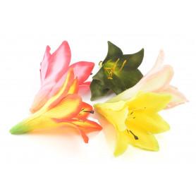 Kwiaty sztuczne lilia wyrobowa 14x15cm