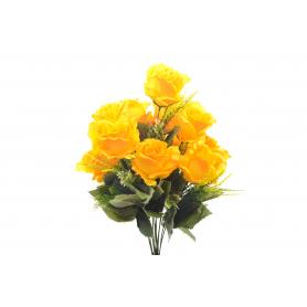 Kwiat sztuczny bukiet róż 55cm