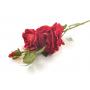 Kwiaty sztuczne róża gałązka 82cm