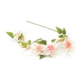 Kwiaty sztuczne klematis zwis 105cm