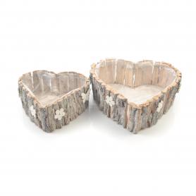 Drewniana osłonka 2 szt. komplet