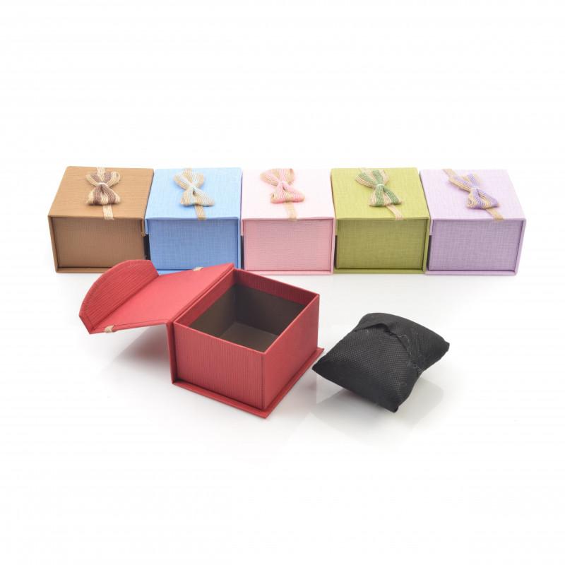 Papier FLOWER BOX mini prostokąt 9x8x5,3