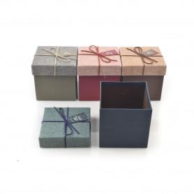 Papierowy FLOWER BOX kwadrat 11,5x11,5cm