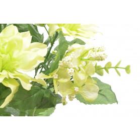 Kwiat sztuczny bukiet dalia