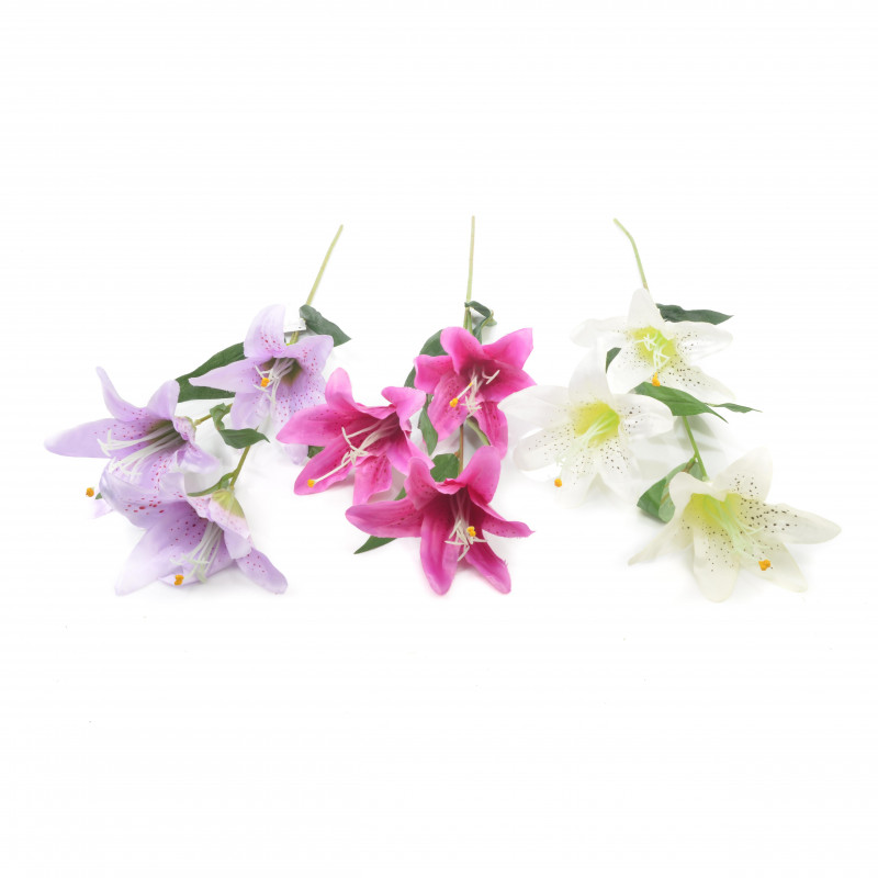 Kwiaty sztuczne lilia gałązka