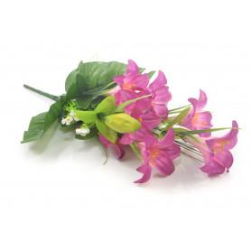 Kwiaty sztuczne bukiet lilii 55cm