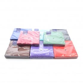 Бумажные салфетки :одноцветные