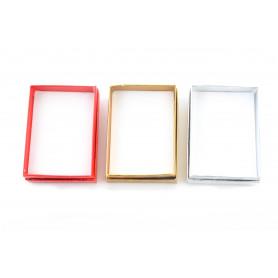 Papier mini FLOWER BOX metalic 9,5x7x2,8