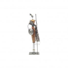 Metalowa dekoracja afryka15,8x8,5x49,5cm