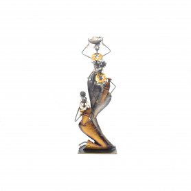 Metalowa dekoracja afryka21x10x56 cm