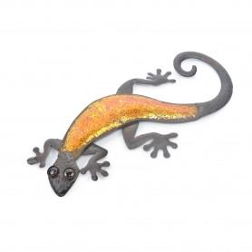 Metalowa jaszczurka 48,5x23,5x2cm