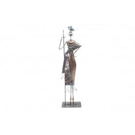 Metalowa dekoracja afryka15,5x8,5x50,5cm