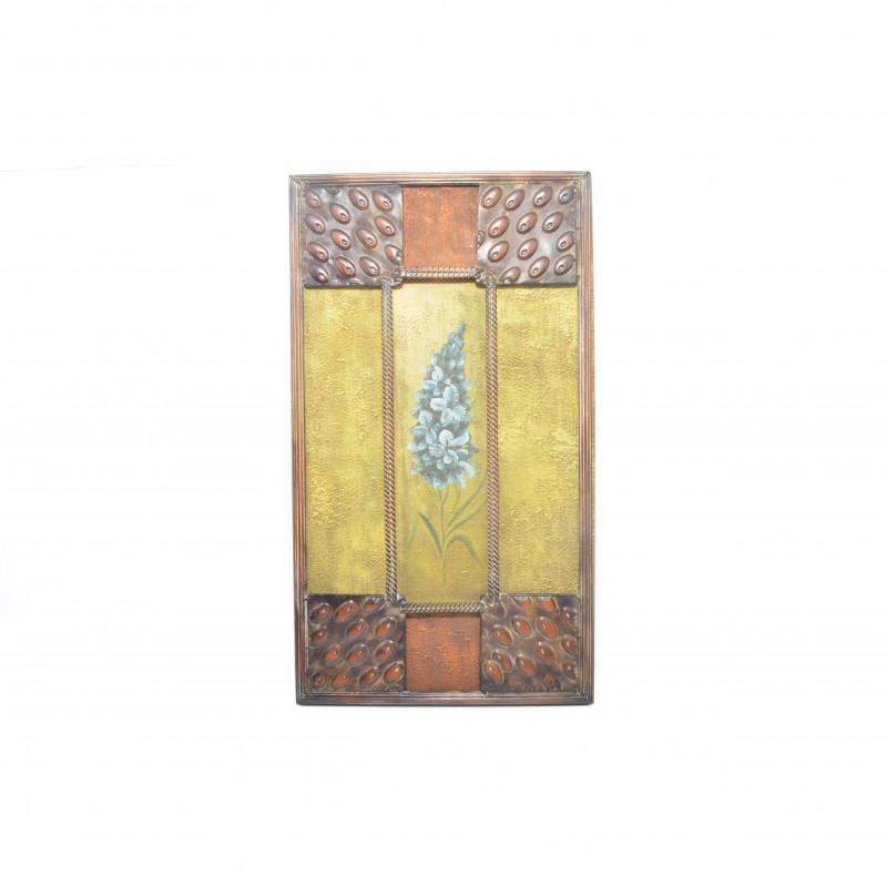 Obraz z metalem 79x45x4 cm