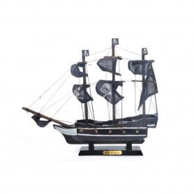 Drewniana replika statku 30x24cm