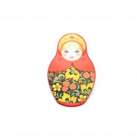 Ceramiczny obrazek matrioshka (babuszka)