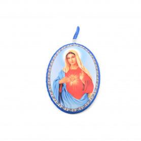 Ceramiczny obrazek Matka Boska