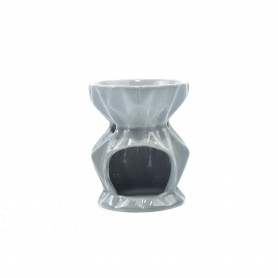 Ceramiczny kominek futurystyczny