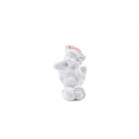 Tw.sztuczne figurka anioła wianek cm 8,5