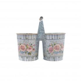Metalowe osłonki bliźniacze roses
