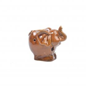 Ceramiczny kominek słonik
