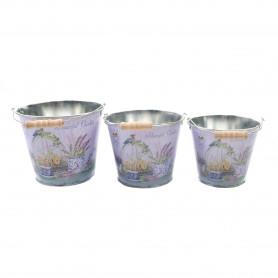 Metalowe osłonki 3w1 Lavender