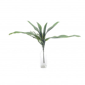 Kwiaty sztuczne gumowy liść storczyka