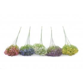 Kwiaty sztuczne czosnek na piku