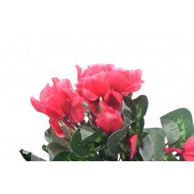 Kwiaty sztuczne bukiet cyklamen
