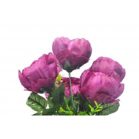Kwiaty sztuczne piwonia bukiet