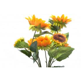 Kwiaty sztuczne słonecznik bukiet