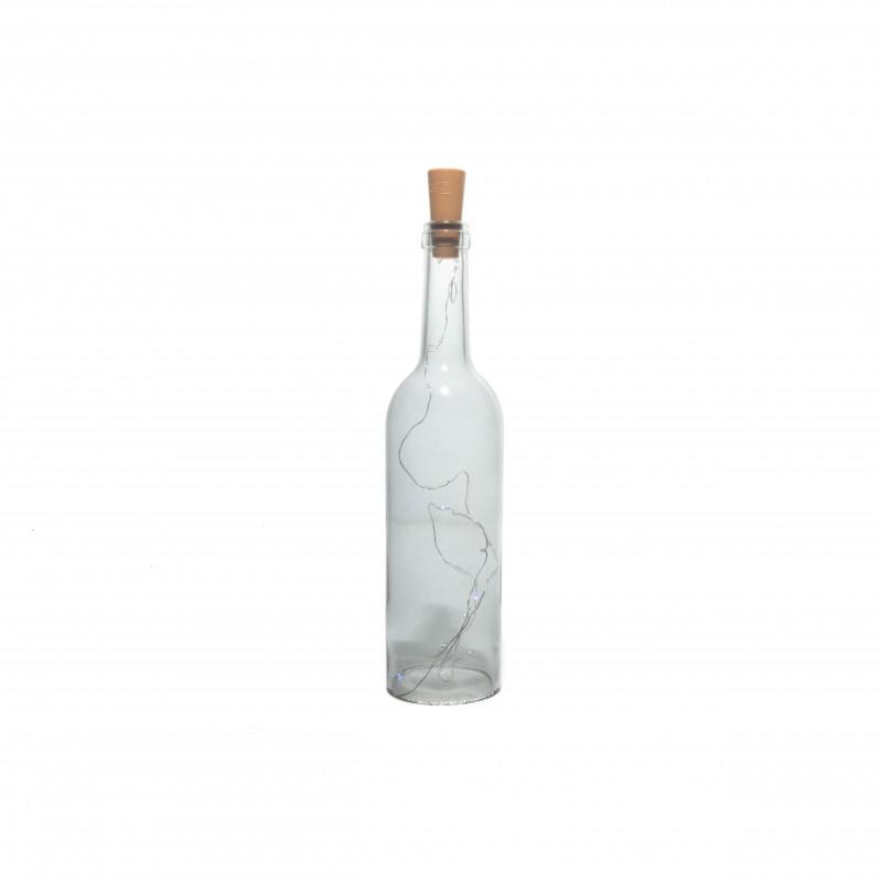 Szklana butelka z ledem GREY
