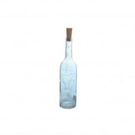 Szklana butelka z ledem BLUE