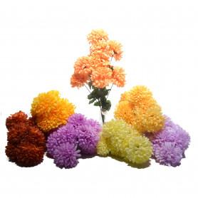 Kwiaty sztuczne, bukiet chryzantemy 53cm