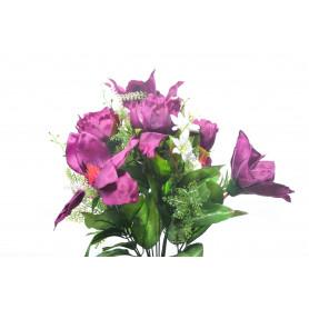 Kwiaty sztuczne bukiet magnolii