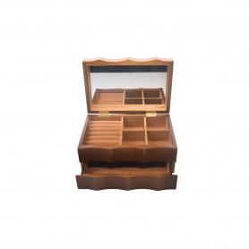 Drewniana szkatułka 24x11,5x5x16,5cm
