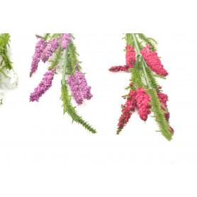 Kwiaty sztuczne gałązka 4 kolory