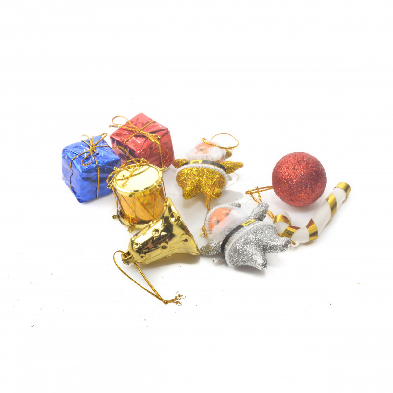 Bożonarodzeniowy mix mini dekor. folia