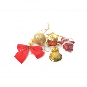 Bożonarodzeniowy mix mini ozdób