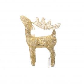 Bożonar. złoty renifer 45cm