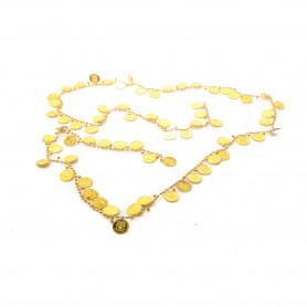 Bożonar. łańcuch złote pieniądze