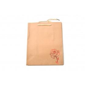 Papierowa torba eko RED mjidi