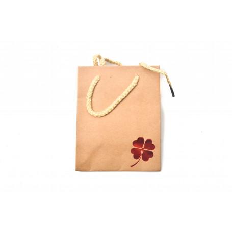 Papierowa torba eko RED mini