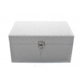 Drewniany kuferek 24x16x12,20x12x9