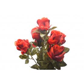 Kwiaty sztuczne bukiet róż 2 mixy