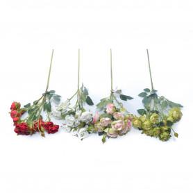 Kwiaty sztuczne gałązka róży