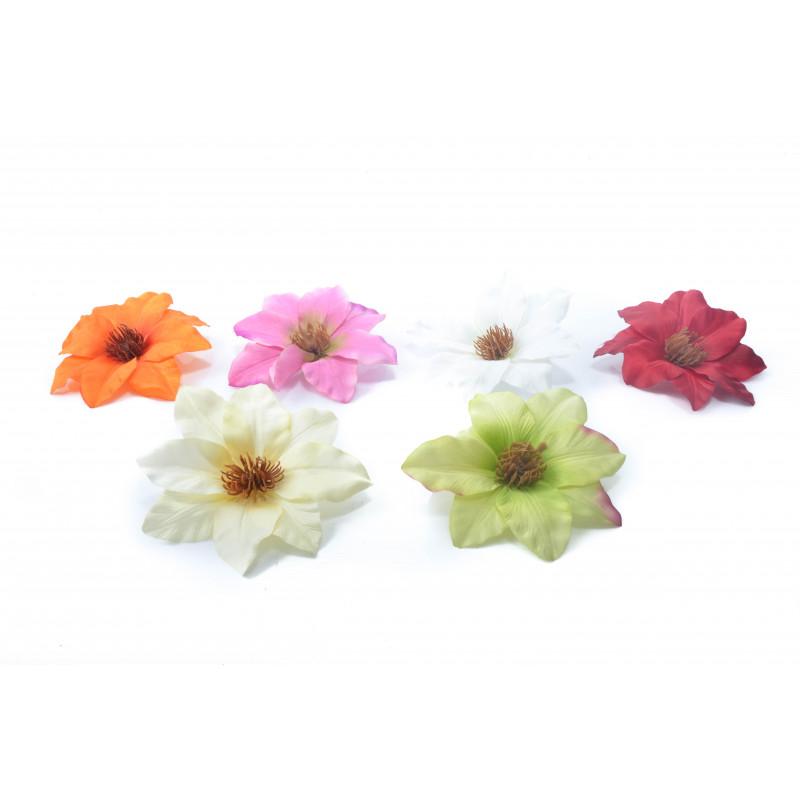 Искусственные цветы: клементис