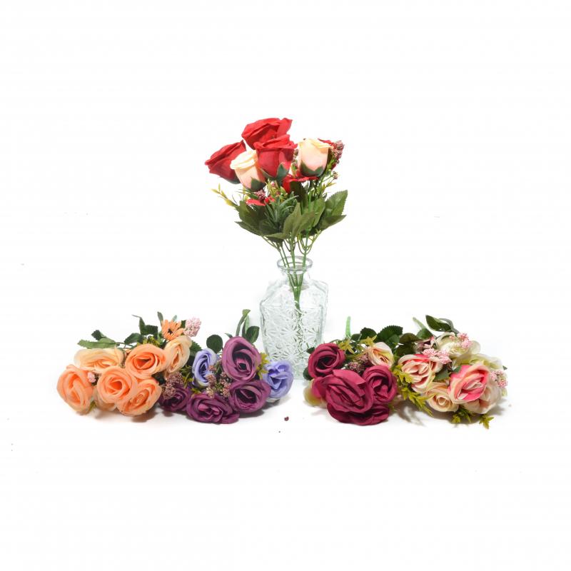 Kwiaty sztuczne buk.róża
