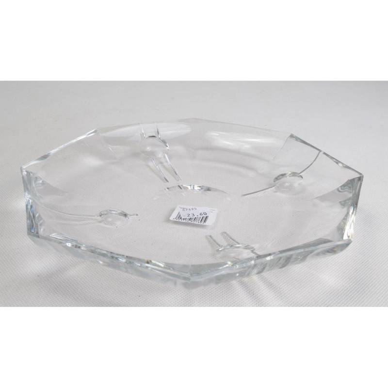 Kryształowy talerz